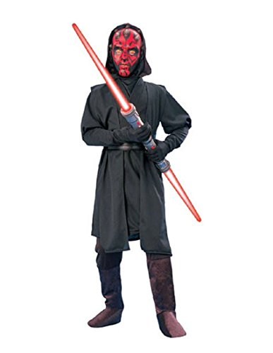 Rubie's Star Wars Deluxe Darth Maul Child's Costume, Medium -