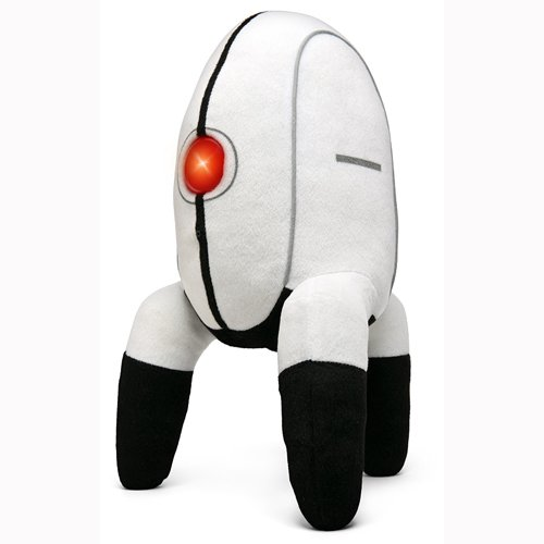 Portal 2 Turret Plush with 11 Different Motion Sensor Activated Speaking Functions - Authorized Licensed Collectible by Portal 2 (Image #1)