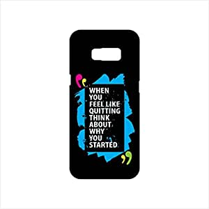 Fmstyles - Samsung S8 Plus Mobile Case - When You Feel like quitting