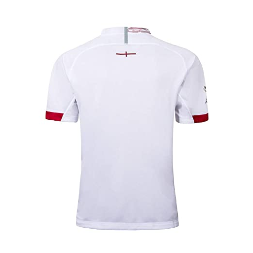 Rugby Jersey Inglaterra Local/visitante Fan T-Shirts Hombres ...