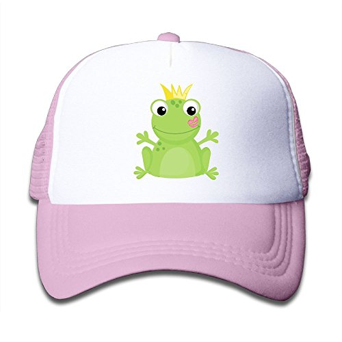 Kkidj Ooii Mesh Baseball Caps Mens&Girls Youth Snapback Hats Cute (Frog Trucker Hat)