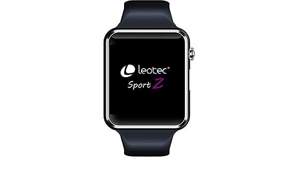 LEOTEC - Smartwatch Sport Z, color Negro: Amazon.es: Coche y ...