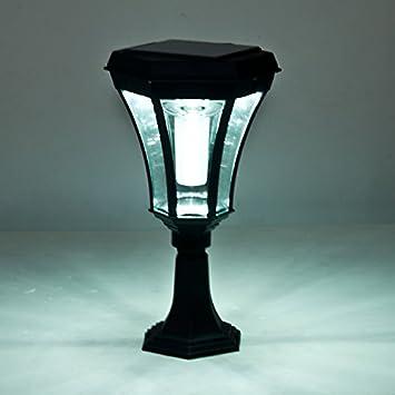 Wwj Solar Pillar Lamp Post Lights Wall Lights Wall Lights Outdoor