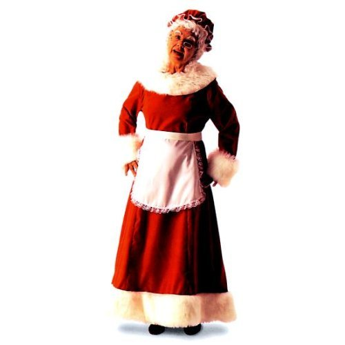 Mrs. Claus Adult Costume - Medium