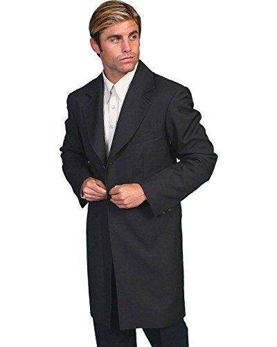 Rangewear By Scully Men's Frock Coat Black 46 R (Wool Frock Coat)