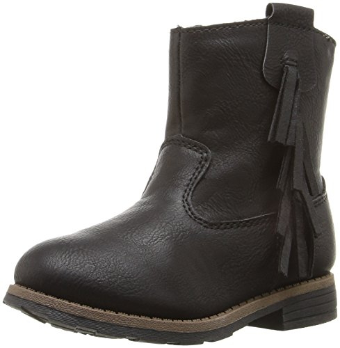 (Carter's Girls' Apache Boot, Black, 7 M US)