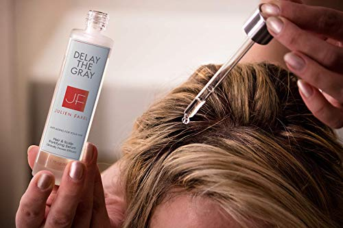 Julien Farel Magnifique Delay The Grey Hair & Scalp Serum, 1.7 Fl Oz – SLS & Paraben Free – Best for Normal, Fine, Thinning, Damaged and All Hair Types, As Seen on The View by Julien Farel Products (Image #1)