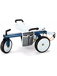 Gorilla Carts GCG RGS Rolling Garden Scooter