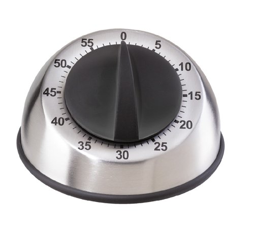 (Oggi Countdown Stainless Steel 60-Minute Kitchen Timer)