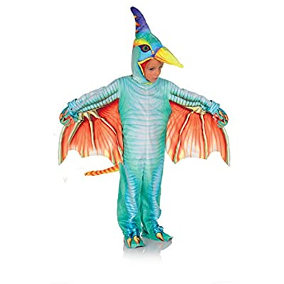 Under Wrap Little Girls' Green Pterodactyl Child Costume: Clothing