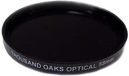 86mm Threaded Black Polymer Solar Filter for Cameras