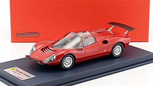 フェラーリDino 206コンペティツィオーネPrototipo in Red 1: 18スケールby LOOKSMART