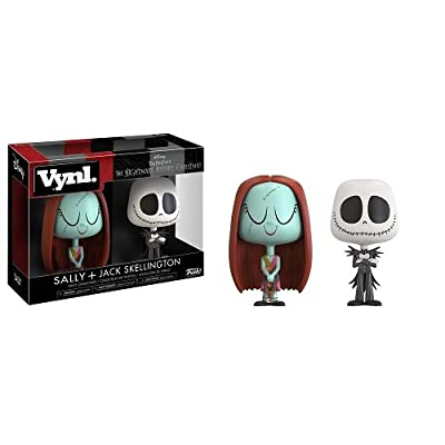Funko VYNL: The Nightmare Before Christmas Jack & Sally Collectible Figure: Funko Vynl:: Toys & Games