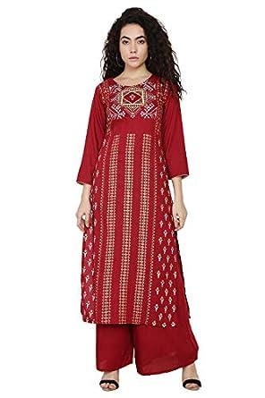 Shopbering Women's Rayon Readymade Salwar Suit