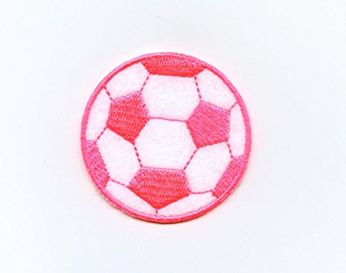 Soccer Ball Embroidered Iron - 3