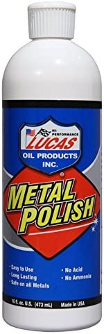 Lucas Oil 10155 Metal Polish - 16 oz.
