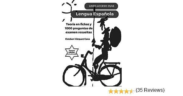 Lengua Española. UNED Acceso 25/45: UNED Acceso 25-45: Amazon.es ...
