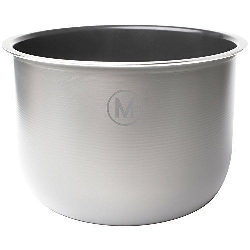 Genuine Multipot Stainless Steel Inner Pot for 6 Quart Pressure Cooker by Mealthy