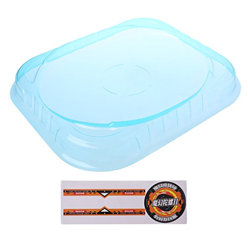 JAGENIE New Big Beyblade Bey Stadium Combat Arena Attack Battle Top PlateChristmas New Year Gift,1 pc, Random Delivery -