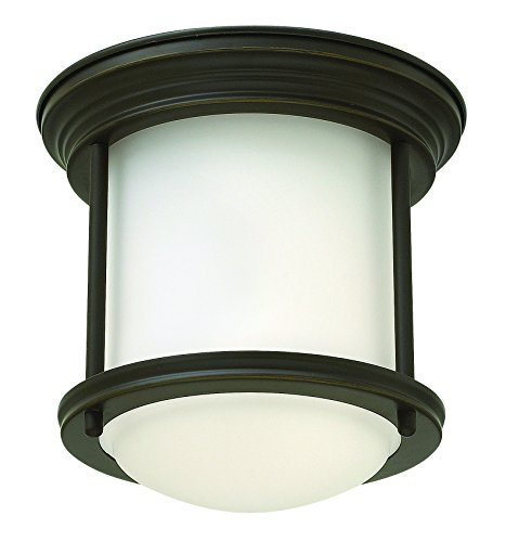 Hinkley 3300OZ Restoration One Light Flush Mount from Hadley collection in (Restoration Flushes Collection)