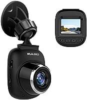 Mini Dash Cam, MILALOKO Full HD 1080P Car Camera with 168° Wide Angle, G-Sensor, Loop Recording, Motion Detection, Park Monitor