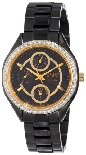 Citizen Women's FD1068-53E Drive From Citizen Eco-Drive POV Analog Display Black Watch