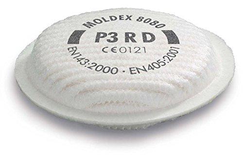 Moldex 8080 Filters P3RD (Pair)