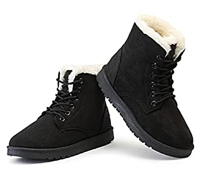Amazon.com | Youzee Womens Women Snow Boot, Winter Warm