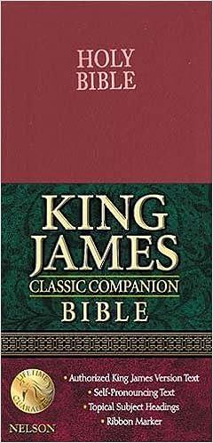 Classic Companion Bible-KJV