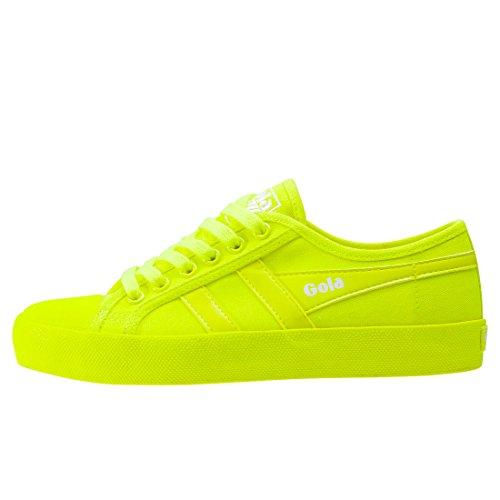 Neon Neon Yellow Coaster Yellow Trainers Neon Womens Gola wYvTx5HqW