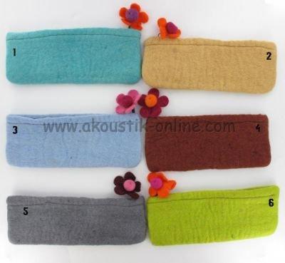 Estuche de lana, para papilla, diseño de flor: Amazon.es ...