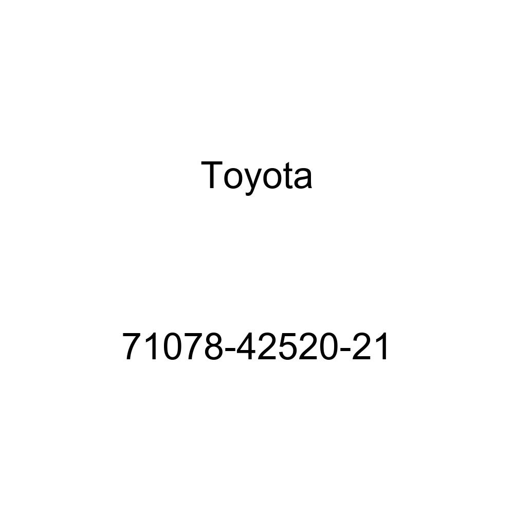 TOYOTA Genuine 71078-42520-21 Seat Back Cover