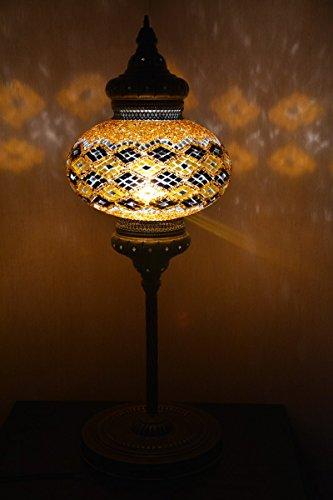 9 balls Turkish mosaic floor lamp handmade glass lighting ottoman moroccan (Canada Moroccan Lanterns)