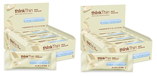 Think Thin 20 Pack (2 X Box of 10)- (White Chocolate)