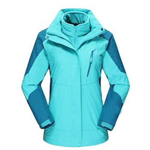 Autunno Signora Vestiti Outdoor Blue Lai La Giacche Rampicanti Antivento Wu Caldo Abbigliamento Traspirante T0Xxq
