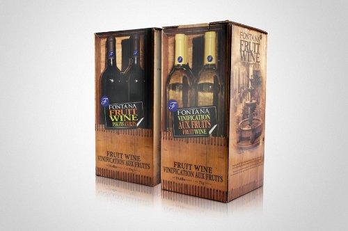 Fontana Fruit Wine Making Kit Premium (28 Day Kit) (Blackberry Merlot)