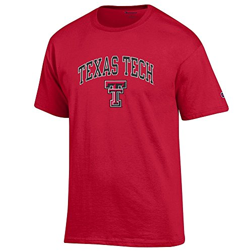 - Elite Fan Shop Texas Tech Red Raiders Tshirt Varsity Scarlet - XL