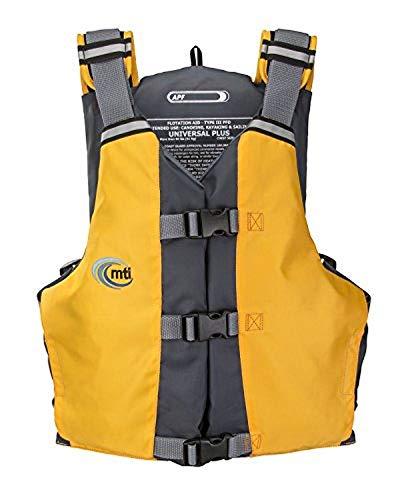 MTI APF All-Person-Fit Life Jacket - Mango/Grey - Universal (30-56