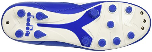 Diadora Brasil R Mdpu, Botas de Fútbol para Hombre Blu (Azzurro/Bianco)