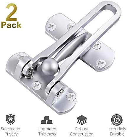 Security Latches Reinforcement Aluminium Chrome 2 product image