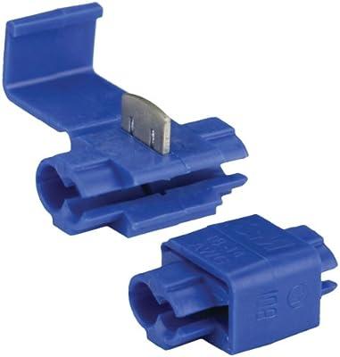 100-Pack Install Bay 3MBSL 3M Scotch Lok Connector 16//14 Gauge Blue