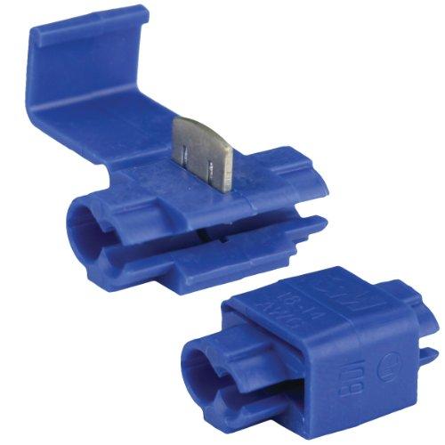 Connector Lok - Install Bay 3M Scotch Lok Connector 16/14 Gauge - 100 Pack (Blue)