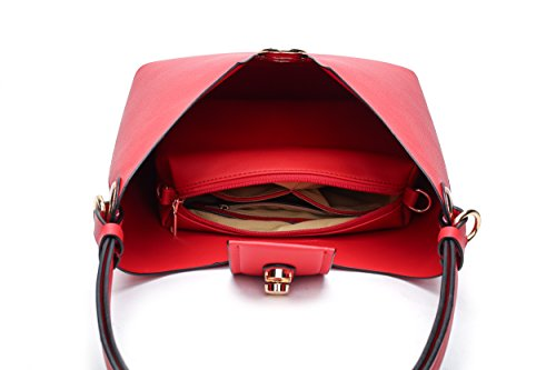 Mia Farrow Blue MKF Hobo K Collection by Soledad Handbags OA8wRrxA