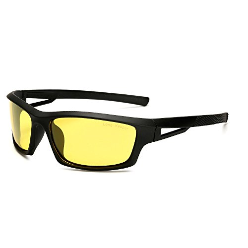 Long Keeper Polarized Sports Sunglasses for Driving Cycling for Men Women - Sunglasses Drive