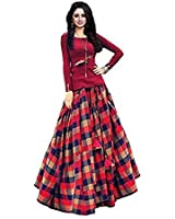 Fabulous Trendz Cotton Sillk Gown for Woman, Gown For Festival Special