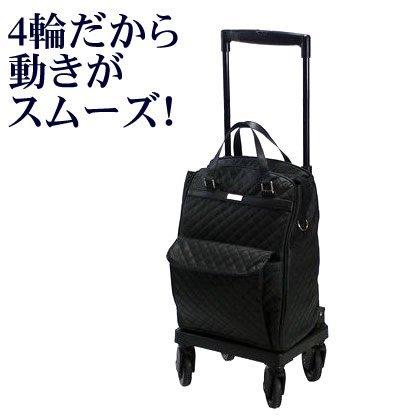 島製作所  ショッピングカー メロディスムーズ キルティングBK(黒) B00AYPXUHG  キルティングBK