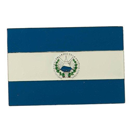 North and South American Belt Buckle - El Salvador OSFM