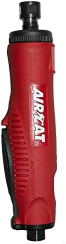 AIRCAT 6260 1 HP Die Grinder, Small, Red Black