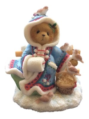 """Cherished Teddies Irmgard #706728 """"Your Smile Can Melt Any Heart"""""""