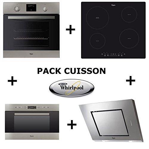 Whirlpool Pack de horno: horno pyrolyse + mesa inducción + ...